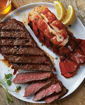 Lobster & KC Strip