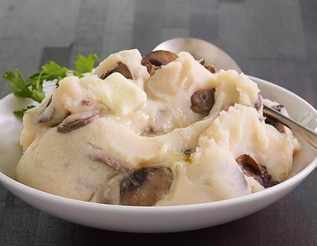 Mashed Potatoes with Mushrooms
