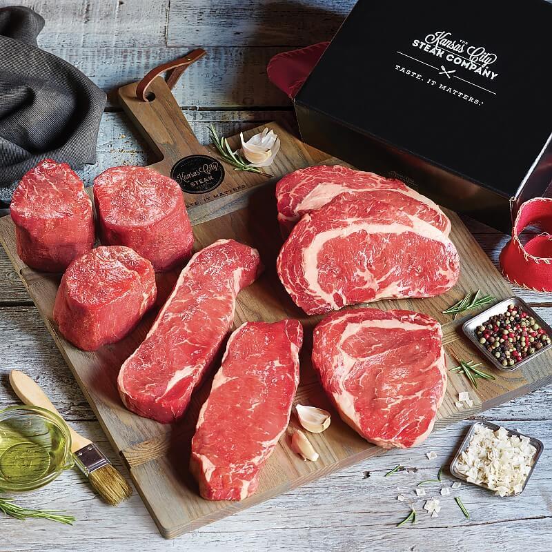 Gift Boxed Kansas City Signature Steak Combo