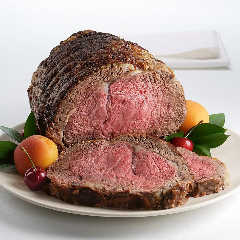 Traditional Prime Rib Roast  Kansas City Steaks