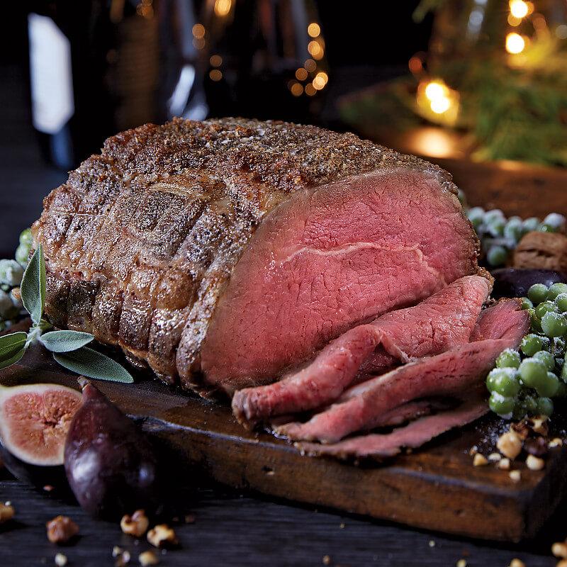 Roasted Steakhouse Rub Prime Rib Roast Kansas City Steaks