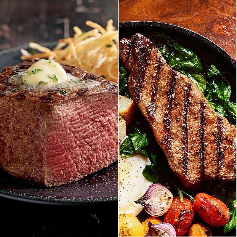 Trimmed Filets Kansas City Strips Kansas City Steaks