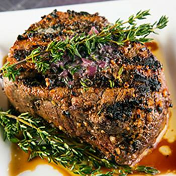 Crown Filet with Red Wine Butter